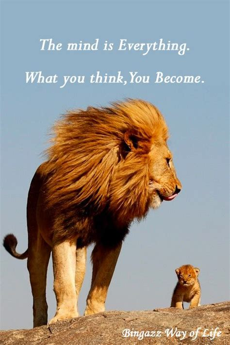 We becomes what we think about