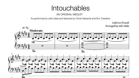 Intouchables Medley - Piano Solo Sheets - arr