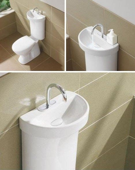 """The """"Profile™ 5 with Integrated Hand Basin by Caroma looks"""