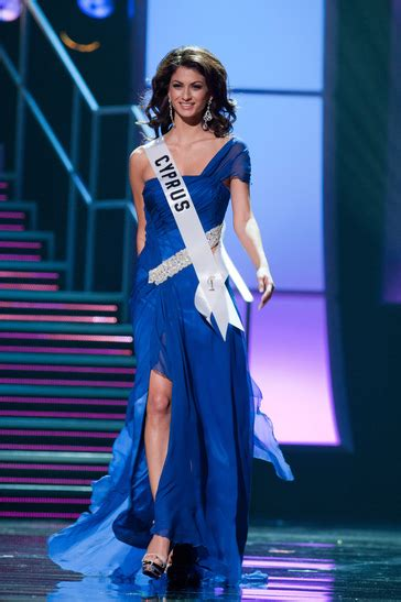 Greece and Cyprus Beauties Competed for Miss Universe 2010
