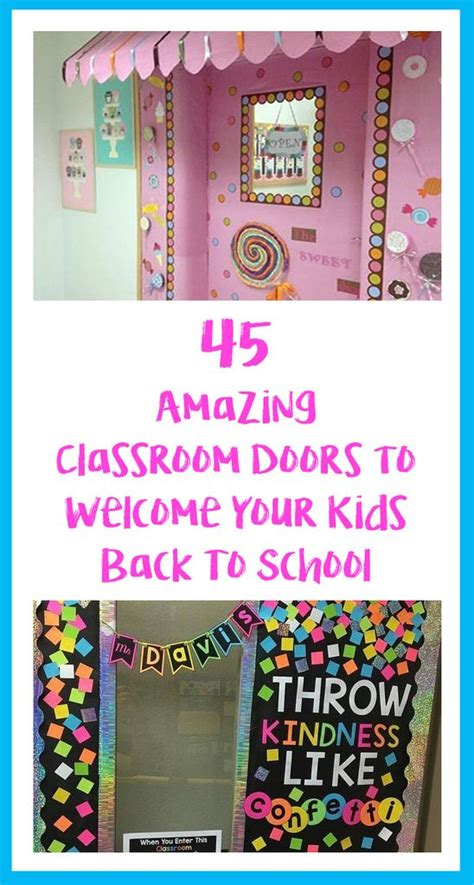 45 Amazing Classroom Doors To Welcome Your Kids Back To