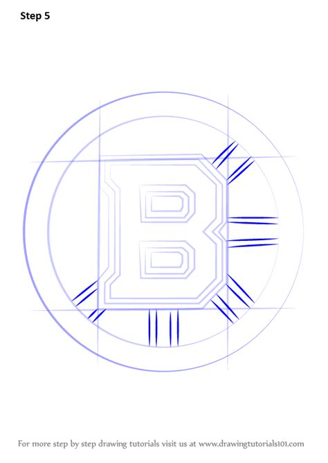 Learn How to Draw Boston Bruins Logo (NHL) Step by Step