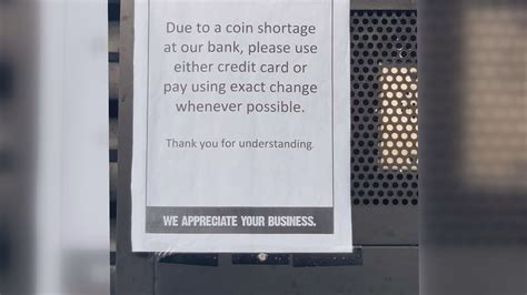 Nationwide coin shortage impacting local businesses and banks