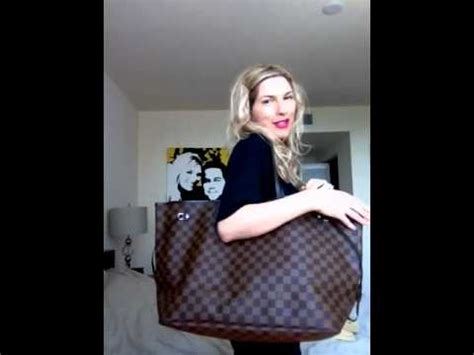 Review comparison Louis Vuitton neverfull gm and mm - YouTube