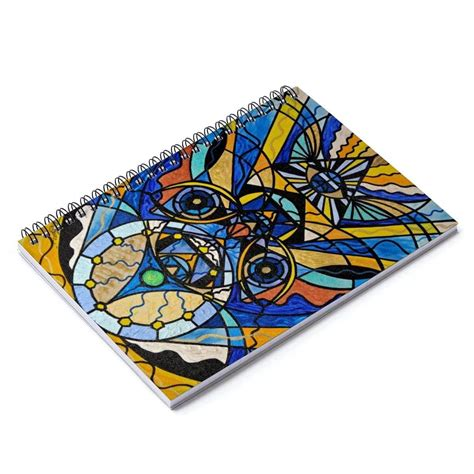Sirian Solar Invocation Seal - Spiral Notebook - Teal Swan