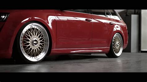 THE SKODA OCTAVIA RS - by Rieger Tuning - YouTube