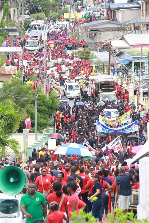 Photos: Labour Day in Fyzabad