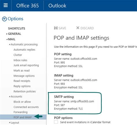 SMTP Relay in Office 365 environment | Part 3#4 - o365info