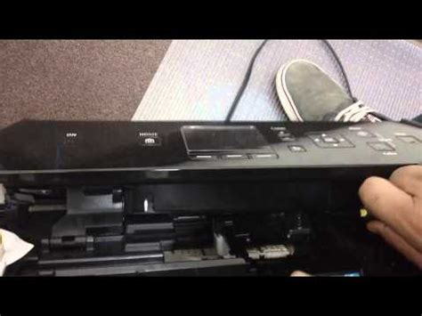 Cleaning Canon printhead FHD   FunnyCat