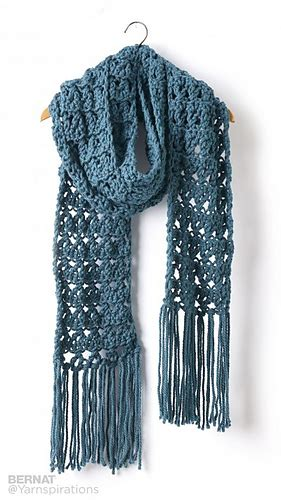 Ravelry: Crossing Paths Crochet Super Scarf pattern by