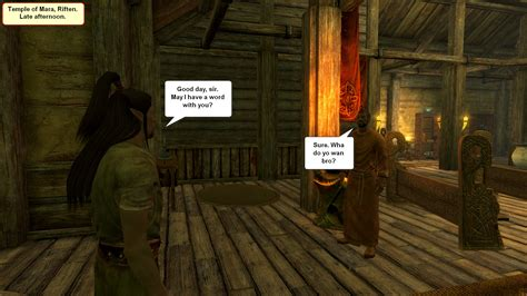 Side story - Stranger is looking for a job - Ivy's (Skyrim