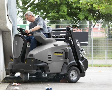 Ride-on Sweepers From Kärcher Have Patented Features - ECJ