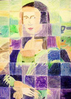 Mona Lisa puzzle - I do this with my 4th graders every
