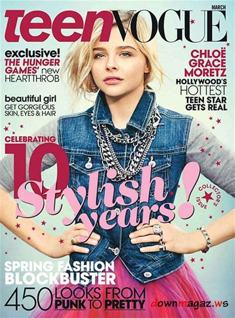Teen Vogue USA - March 2013 » Download PDF magazines