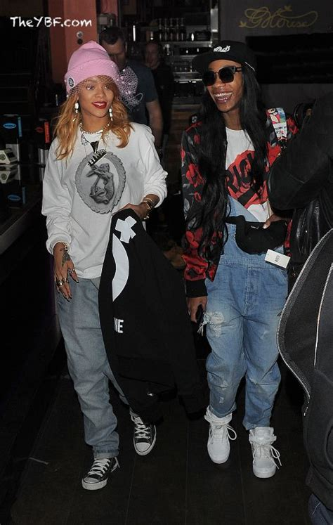 DOUBLE JOINTED: Rihanna & Her Bestie Hit Up A Weed Haven