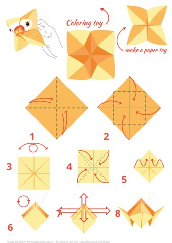Origami Parrot Instructions   Free Printable Papercraft