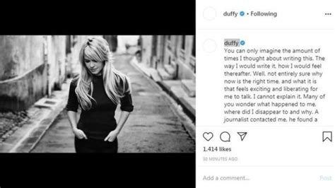 Singer Duffy 'drugged, raped and held captive'