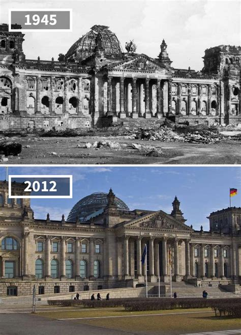 20 Before & After Pics Showing How The World Has Changed