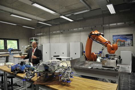 Laboratory of robotic systems