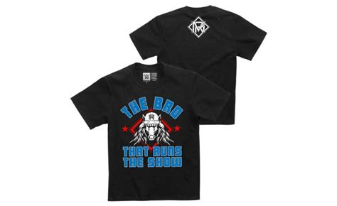 """Matt Riddle """"The Bro That Runs The Show"""" Youth Authentic T"""