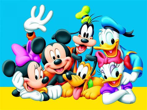 Donald Duck Daisy Duck Mickey Mouse Goofy And Pluto
