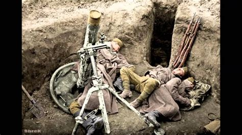 World War 2 in color with soundtrack