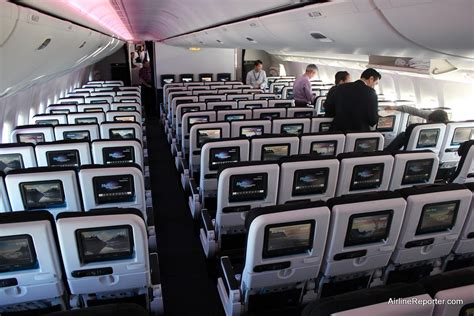 Boeing 777-300er (Air New Zealand economy seating
