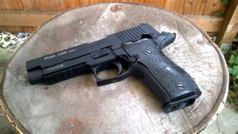 Sig Sauer P226 X - FIVE Review / Test Co2 4,5mm BB - YouTube