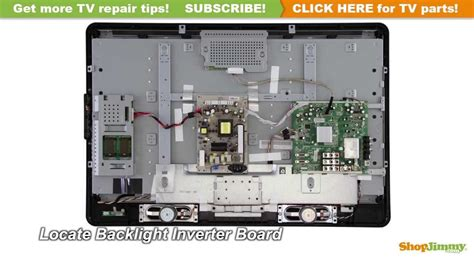 Philips TV Picture Repair - How to Replace a Backlight