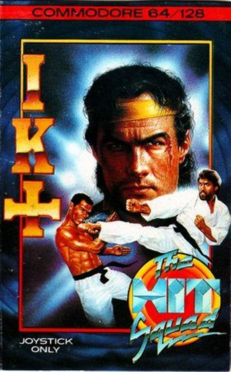International Karate + (1987) by System 3 C64 game