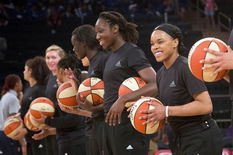 WNBA players refuse to talk basketball in protest of fines