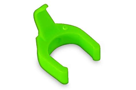 PatchSee cable clip color light green, set= 50 clips