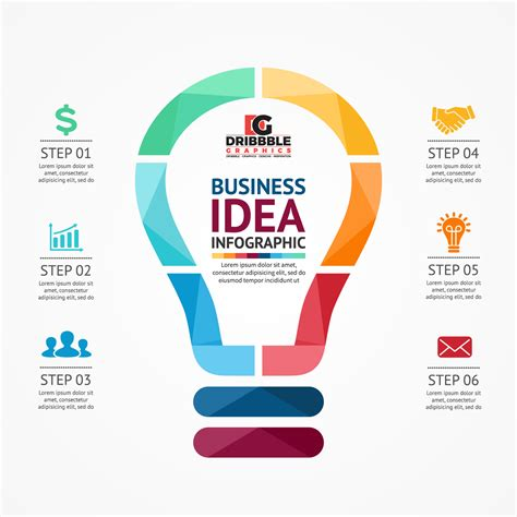 Free Business Infographics Vector Graphics   Dribbble Graphics