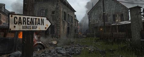 Call Of Duty: WW2 Will Feature Classic Map From First Game