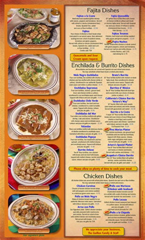 New Bern NC - Authentic Mexican Cooking | Arturo's Mexican