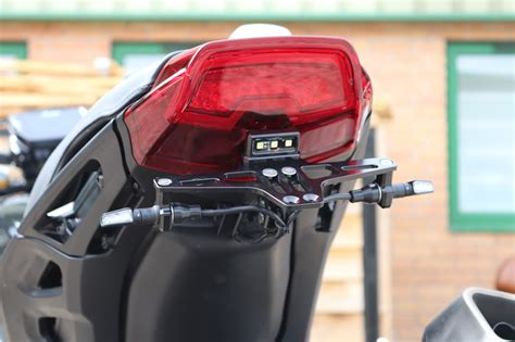 Indian FTR1200 High Mount Tail Tidy Number Plate Bracket