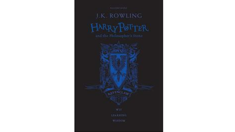 Hogwarts House 20th Anniversary Editions of 'Philosopher's