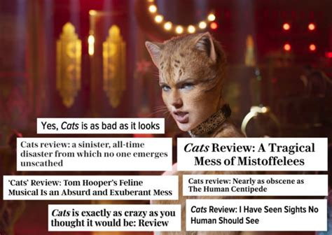 Critics Hate 'Cats': Here Are The Most Vicious Movie