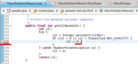 java - Compiler doesn't complain when I ended a line with