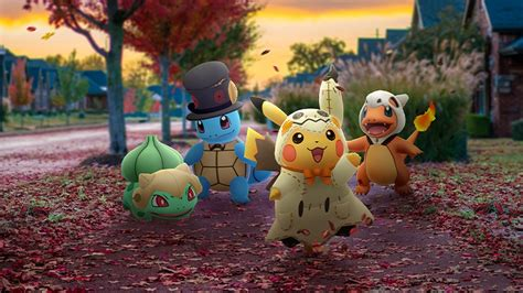 Pokémon GO Has All Sorts Of Treats Planned For Halloween